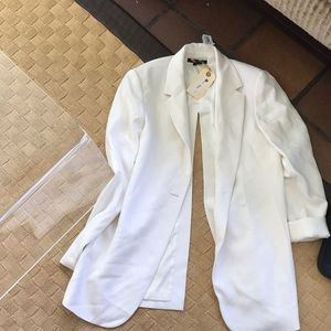 Brand new with tags Theory white jacket